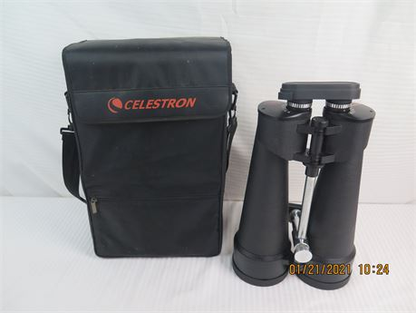 Celestron SkyMaster 25x100 Waterproof FOV 3-degrees Binoculars w/ Case