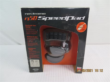 Belkin Nostromo N50 Speedpad 10-Button Gaming USB Keyboard - NEW (670)
