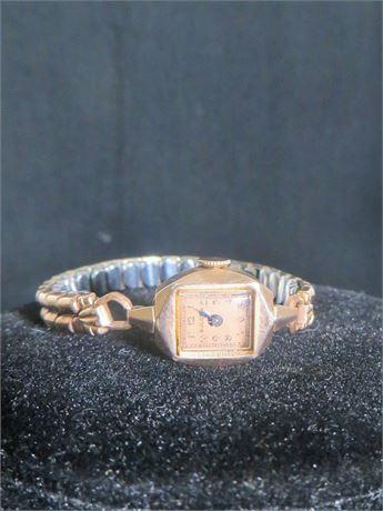 Bulova 10KTGF Circa 1950Vintage Women's Watch