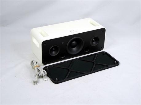 Apple A1121 iPod HiFi Speaker System Sound Dock w/ White AC Cord