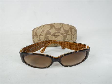 Coach Sunglasses, Keri 2464 Tortoise w/ Case