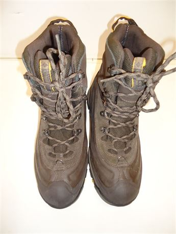 Mens Columbia Omni-Heat Waterproof Boots Brown Size 9