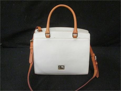 Dooney & Bourke White Leather Purse