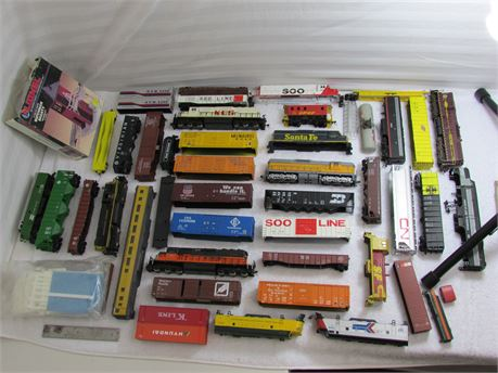 Assorted Train Set collection for sale.