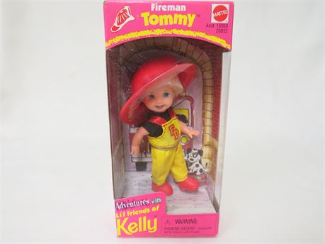 Adventures With Li'l Friends Of Kelly Firefighter Tommy Doll