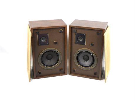 Vintage Pair Advent 3 Bookshelf Speakers Passive 8 Ohm