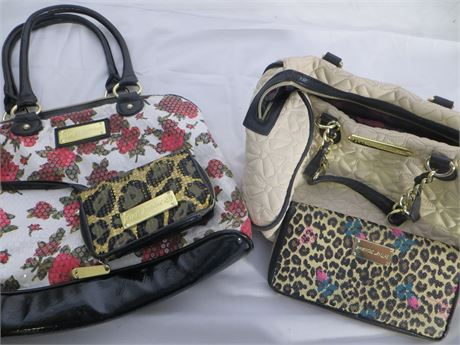 Betsey Johnson - LOT of 4 Bags