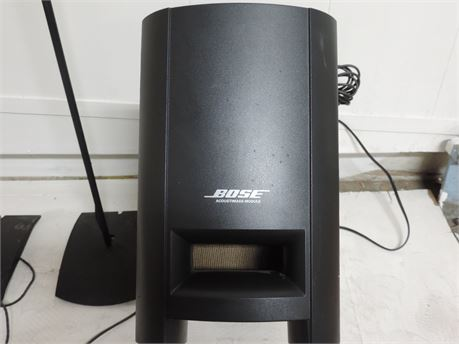 Bose CineMate Home Theater With Subwoofer And Two Tower speakers LOCAL PICKUP