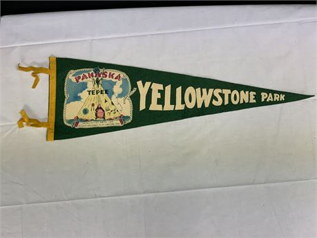 Yellowstone Park Banner