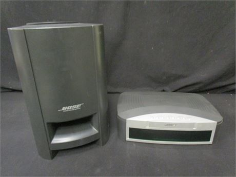 Bose Model AV3-2-1 Media Center and Acoustimass Sub - Untested
