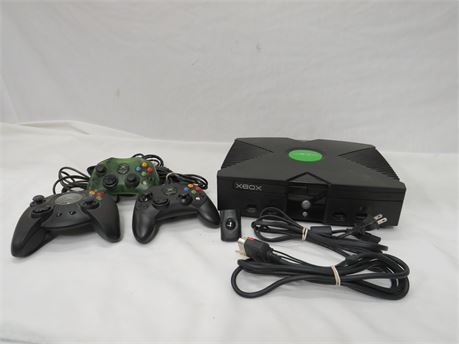 Microsoft Xbox Video Game Console & Accessories Bundle - Tested *4503*