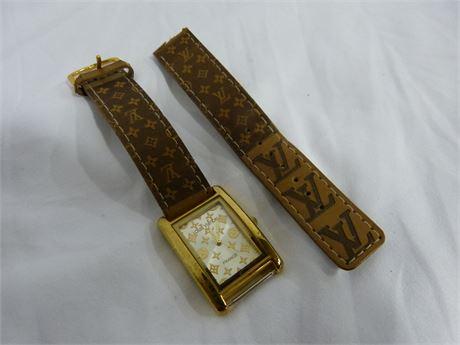 Vintage Louis Vuitton France Paris Watch