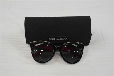 Dolce & Gabbana Womens Polarized Sunglasses DG4207   Black/Blue/Red/White