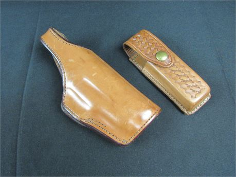 Bianchi Holster w/ Tex S&S Clip Carrier #H2 (650)