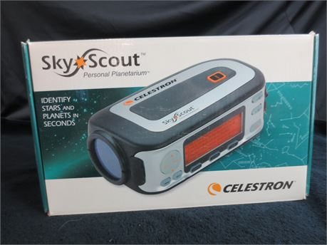 Celestron SkyScout Personal Planetarium Identify Stars and Planets in Seconds