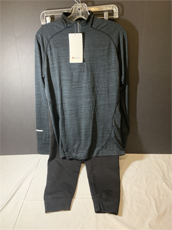 Lululemon Swiftly Tech SS Top + Bottom NWT! Size L