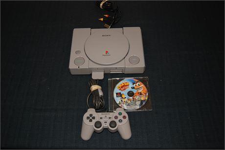 Pristine Playstaion  in Original Box (500)