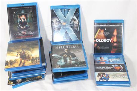 Action/Sci-Fi Blu-Rays, Lot of 20, Old Boy, Taken, Xmen First Class