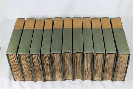 Walter Dunne Universal Classics Library Edition Books, Lot of 11 Memoirs