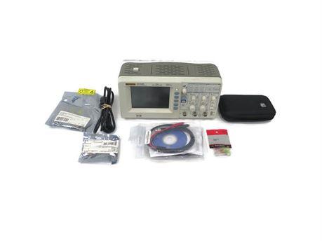 Rigol DS1052E Digital Oscilloscope 50 MHz 1 GSa/S 2-Channel w/ USB, Extras