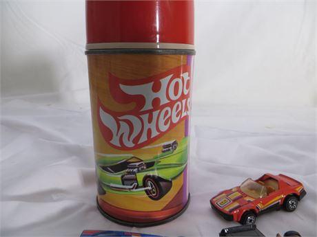 Vintage Thermos - 1969 Hot Wheels