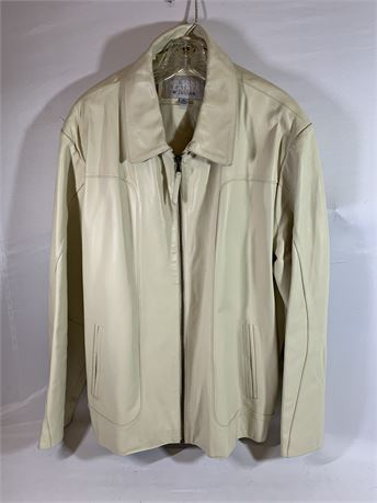 Wilson Leather Off-White Coat Size XL