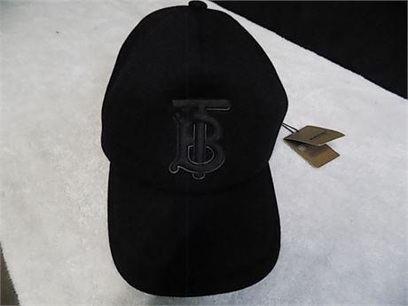 Burberry 'Trucker Cap Jersey Rubber TB,' Size:LG