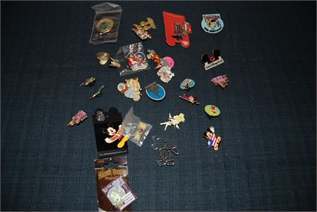 Disney Collectors Pin Lot (500)