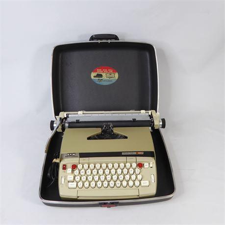 Smith-Corona Electra 120Typewriter w/ Case, Green