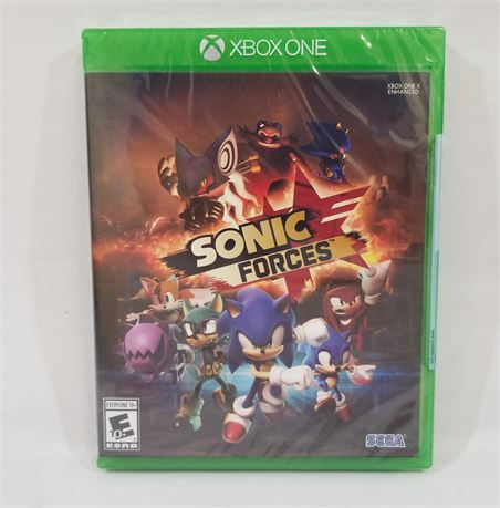 Sonic Forces. XBOX One Game. (NEW)
