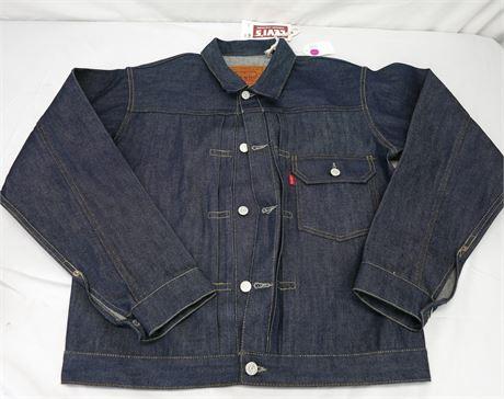 Levi's Vintage Clothing 1936 Type I denim jacket Men Size 40