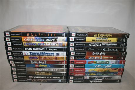 PlayStation 2 Video Games, 24 Games