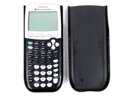 Texas Instruments TI-84 Plus Graphing Calculator w/Cover #2