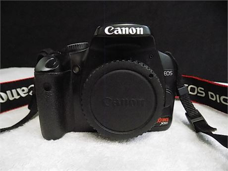 Canon EOS Rebel XSi; No Charger/Untested