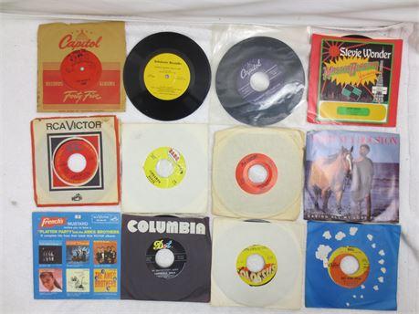 Lot of 45s 7 Inch Vinyl Records Lot B