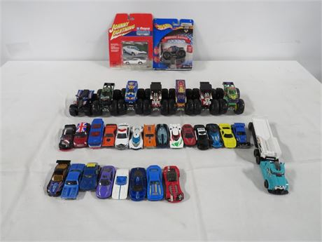 Lot of Cars (230-LV16L)