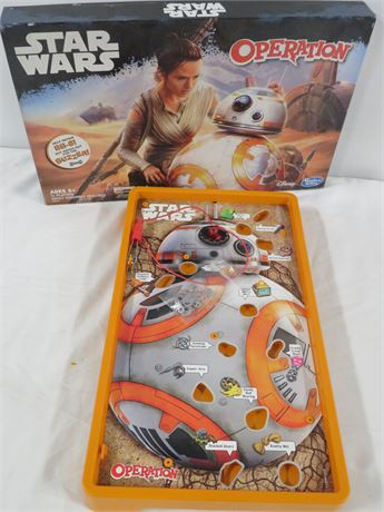 Star Wars Operation Game (230-LV17A)