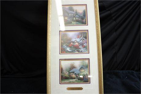 Pair of Thomas Kinkade Prints