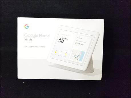 Google Home Hub. (NEW)
