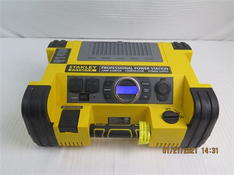 Stanley Fatmax PPRH5DS Power Station 12V Jump Starter, Inverter, Compressor(670)