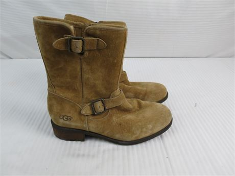 UGG Boots-Size 11-Brown-Used (670)
