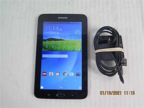 "Samsung Galaxy Tab E Lite SM-T113 8GB Wi-Fi 7"" Tablet w/ Charger (670)"