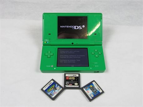 Nintendo DSi Handheld Game Console with Games Fully Functional #MM494 (650)
