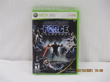 Star Wars: The Force Unleashed (Microsoft Xbox 360, 2008) Brand New (670)