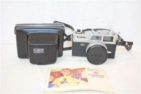 Vintage Canon Canonet QL17/19 Film Camera