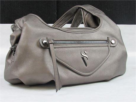 Simply Vera by Vera Wang Grey Handbag #BB361 (650)