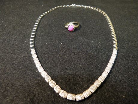 14K Necklace and Ring