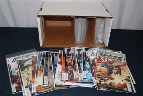 Comic Book Box Mix Lot (500)