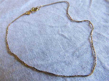 14 Karat Yellow Gold Bracelet 0.62 Grams - Tested w/ JSP