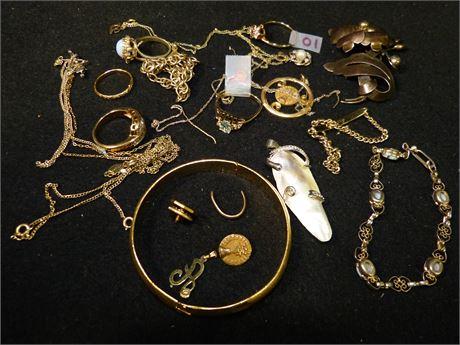 Scrap Lot of Partial Gold